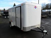 Great cash deal on this new trailer! 6 x 12 Victory