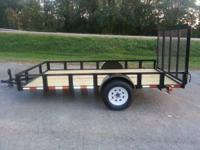 Brand New 2014 Retco 6x12 Utility Trailer with 4 foot