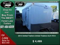 2013 United Trailers United Trailers ULH-7X14  ...  $