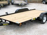 BRAND NEW!!!7x16 Tandem Axle Utility Trailer with Slide