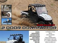 This American Established 800cc ODES UTV comes FULLY