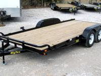BRAND NEW!!!83x18 Tandem Axle Car Hauler FEATURES: