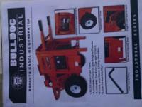 Bulldog 8400 kilowatt generator brand new comes with a