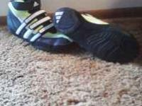 Brand new size 4 1/2 boy wrestling shoes Worn only