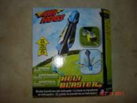 Brand New Never Open Air Hogs Heli Blaster, bought from