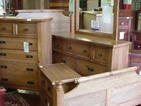 Brand New Timbor Ash 4 piece bedroom set made by