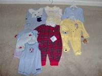 For sale asst. Baby outfits brand new never wore dont
