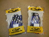 Brand New ColdWave SX Racing Gloves Blue Black and