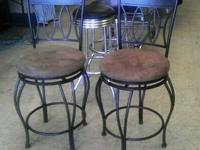 "NEW BAR STOOLS!!! Order the Size you want! 24"" are $89"