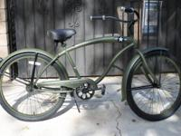 "26"" Micargi ""The General"" Beach Cruiser Copy and paste"
