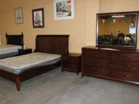 NEW QUEEN DIMENSION BED ROOM SUITE FOR $1500.