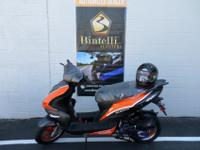 Brand name New Bintelli 49cc Gas scootersMANY makes and