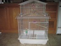 I have 2 new cages for sale. I'm allergic to birds so
