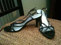 I have a pair of nice black strappy heels that have