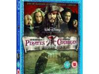 Brand New Blu-ray Pirates of the Caribean Movie - On