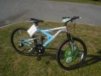 "Brand new blue 26"" Roadmaster mountain bike. Still has"