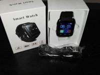 These are Brand new BLACK GSM Smart Watches. They have