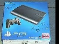 Box Includes:  PlayStation3 System 500 GB o Color: