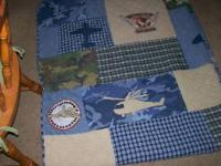 BRAND NEW! NEVER BEEN USED. Boys Twin Quilt and Pillow