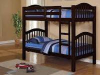 BRAND NEW TWIN OVER TWIN BUNK BEDS! AVAILABLE IN BLACK,