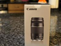 Brand new camera lens. 4.5 Stars on Amazon selling for