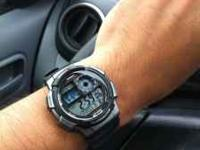 Hi, I have a brand new CASIO watch to sell. I'm using