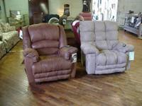 Brand new Catnapper recliners from 313.00 to 406.00