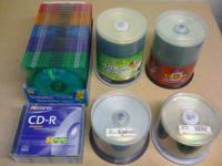 (1) ONE HUNDRED Pack Disks - Ridata - Compact Disk