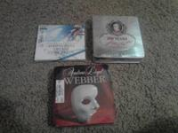 All of these cd's are still in their original