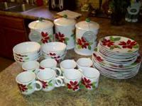 Brand new Martha Stewart collection christmas dishes
