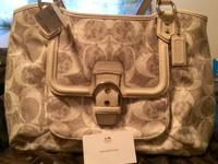 I purchased this purse brand new from the coach website