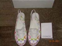 HELLO, THESE ARE AUTHENTIC COACH SLINGBACK