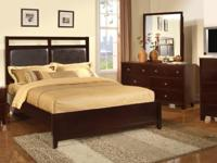 Come check out this queen size solid wood bedroom set.