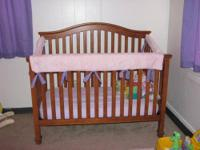 Selling brand new convertible baby crib, still in box.