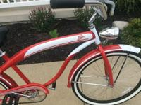 BRAND NEW!! COOL RETRO DESIGN! DR PEPPER BEACH CRUISER