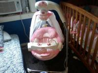 Brand name new butterfly cradle papasan swing. We only
