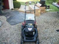 We are selling a BRAND NEW Craftsman SELF PROPELLED
