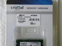 Type:AccessoriesType:RAM MemoryCrucial 4GB Kit (4GB x