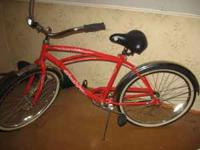 hi, i have a brand new 26'' cruiser bicycle. ... its