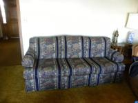 Brand new custom made sofa sleeper by David Roberts (a