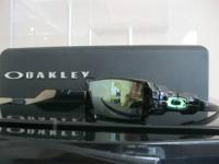 BRAND NEW CUSTOM OAKLEY OIL RIG SUNGLASSES INCLUDES A