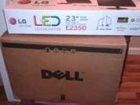 Brand New LG Display Monitor: Manufacturer's