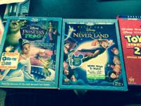 I have 6 new Disney Blu-Ray films The titles are below,