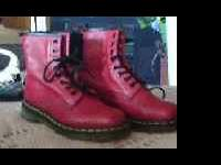 Brand new Dr. Martens boots - Womens size 7 red boots,
