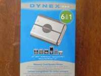 Brand new Dynex memory card reader $5.00 call Steve at