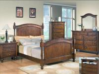 This collection is crafted from selected hardwoods with