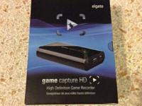 Brand new Elgato Game Capture HD game recorder.  Record