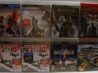 Brand new, factory sealed PS3 Games The Amazing