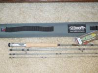 FOR SALE:  ST. CROIX BANK ROBBER STEAMER FLY ROD. Model