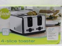 Food NetworK 4-Slice Toaster This Food Network 4-slice